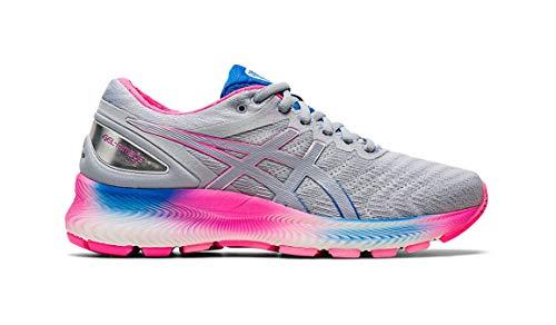 ASICS Gel-Nimbus Lite Zapatillas de correr para mujer, Blanco (Blanco/Gris Piamonte), 43 EU