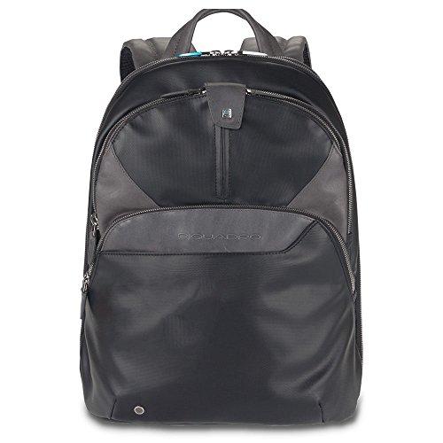 Piquadro CA294 Casual Daypack Mochila  27 x 14.5 36 cm  color Negro