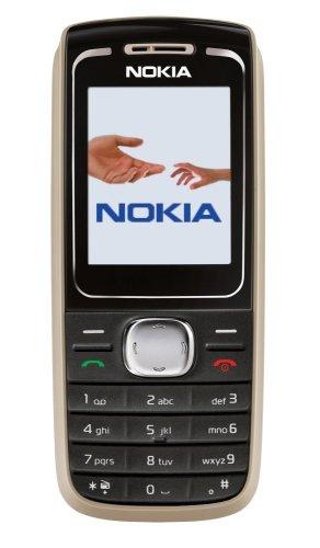 Nokia 1650 Black (Farbdisplay, UKW-Stereo-Radio, Organizer, Spiele) Handy