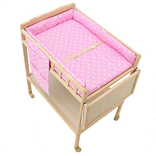 Tables à langer Rose avec Carte d'extension, Nourrisson Multifonction for la Station de Couche-Culotte Jouets et Accessoires