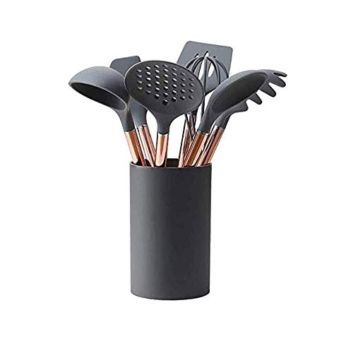 OH Baneamiento Utensilio Silicona Utensilios de Cocina No Palta Utensilios de Cocina Herramienta de Cocción Spátula Lado Huevo Batidores Shovel Soup Soup Utensilios de Cocina Protec