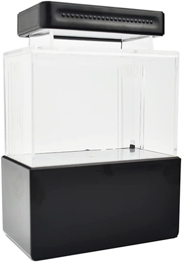 Financial sales sale CUJUX Mini Fish Tank Desktop Marine Challenge the lowest price of Japan ☆ Fishes Aquaponic Bo Aquarium