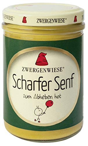 Zwergenwiese Bio Scharfer Senf (6 x 160 ml)