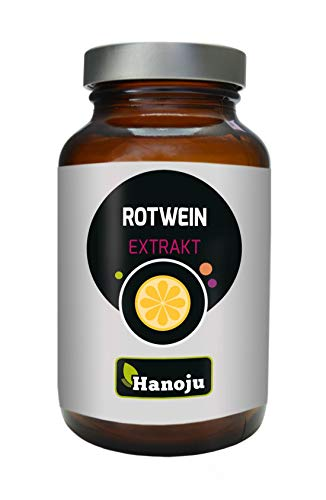 Hanoju Rotwein Extrakt 250 mg (90 Kapseln)