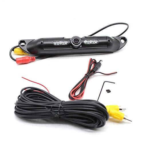 ZGYQGOO Rückfahrkamera Infrarot-LEDs Nachtsicht Einparkhilfe für Farbumkehrsystem für PKW und LKW 12 V 170 ° Erfassungswinkel Wasserdicht