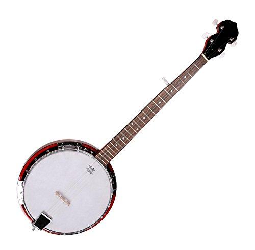 Classic Cantabile TS-1 - Banyo de bluegrass (5 cuerdas, cuerpo: caoba-sapele, mástil y cejuela: palisandro, piel de Remo)
