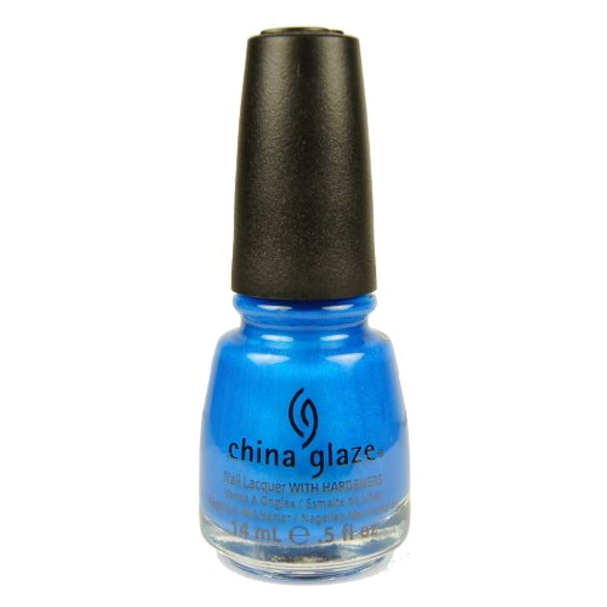 そこ真珠のようなダーリン(3 Pack) CHINA GLAZE Summer Neon Polish - Splish Splash (並行輸入品)
