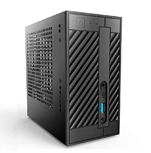Mini Pc fisso Intel core i7 9700 - Ram 16 GB DDR4 - SSD 480 - Scheda video INTEL UHD 630 4k HDMI - Wifi e Bluetooth Integrati - Windows 10 Pro - Minipc desktop compatto