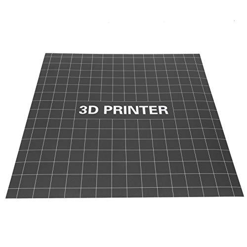 VBESTLIFE Adesivo per Letto riscaldante 400 x 400 mm, Adesivi opachi per Piattaforma di Stampa, Accessori per stampanti 3D, Materiali ecologici di Alta qualità, Non tossici