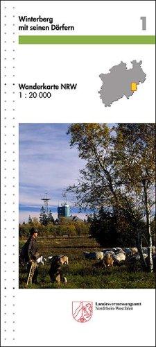 Winterberg mit seinen Dörfern: 1:20000