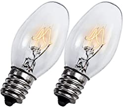 Ultra Durable 22002263 10W 120V Light Bulb Replacement part by Blue Stars – Exact Fit For Whirlpool Kenmore KitchenAid Brands – Replaces WP22002263 3406124 4344740 PS11739347 - PACK OF 2