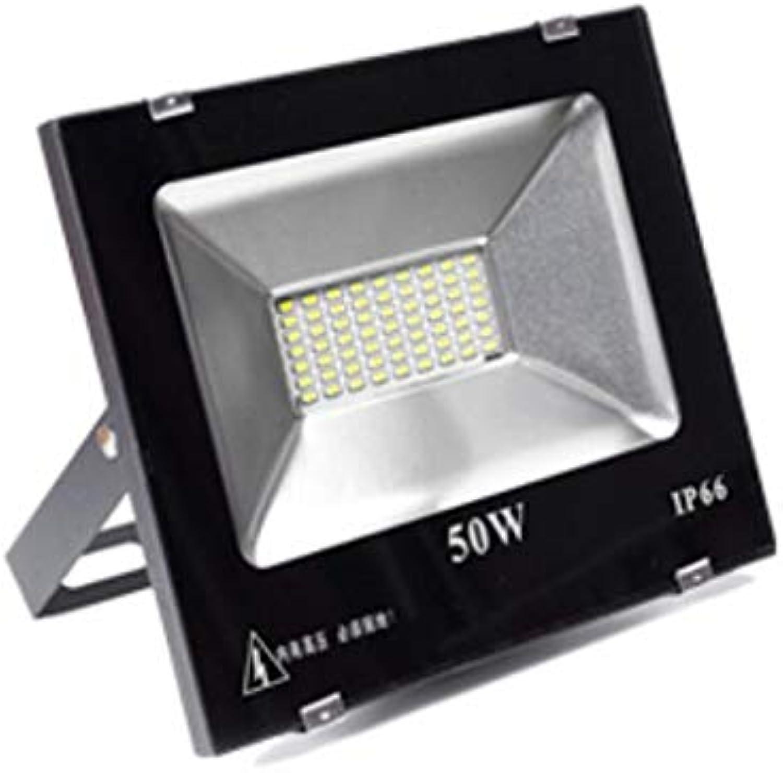 Mysida floodlight LED-Flutlicht IP66 wasserdichtes Outdoor-Sicherheitslicht, super helle Beleuchtung, ideal für Garage, Werbetafel, Site Ect (gre   50W)