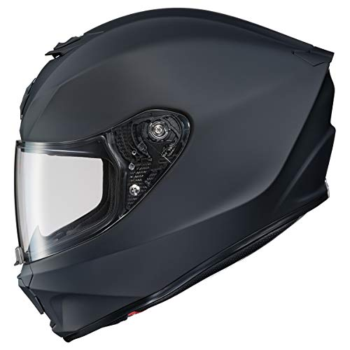 Scorpion R420 Helmet (Medium) (Matte Black)
