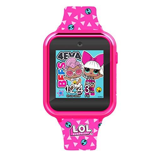 Disney Mädchen Digital Quarz Uhr mit Silicone Armband LOL4264