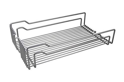 Inhangbodem. 5 Stück - für 40er Schrankbreite Stahl Silber-farben Matt