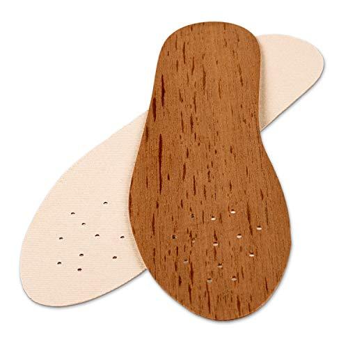 biped Zedernholzsohlen – Echte Zedernsohlen aus Holz – Natürlich & Antibakteriell z2327(41 Damen)