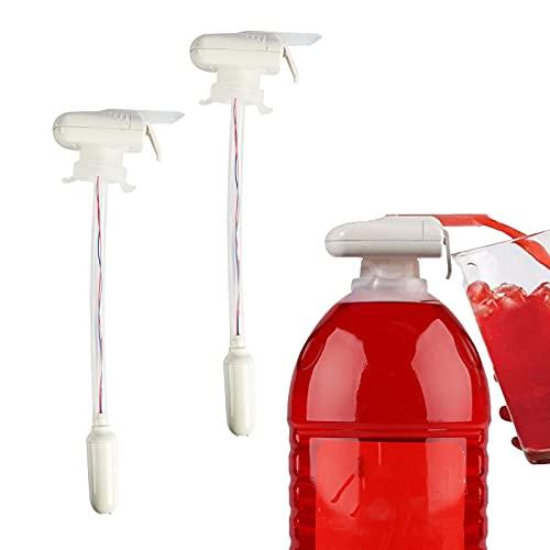 Dispensador de agua automático de 2 unidades, dispensador de bebidas para prevención de desbordamiento de cerveza, fiesta, boda, decoración al aire libre, cocina (color al azar)