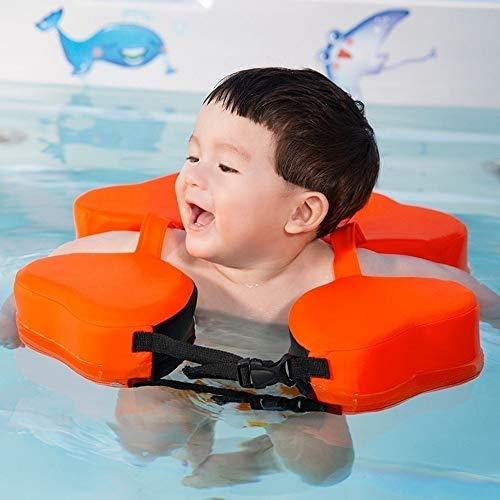 SGLMYD Infant Hals Pool Floats Baby Schwimmhilfe halsring Baby Schwimmen Kinder Schwimmfligel solid Swimming Float schwimmreifen Swim Trainer (Color : 4)