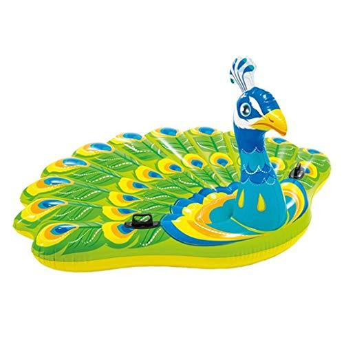 Kickboards opblaasbaar zwembad speelgoed water opblaasbaar drijvend bed pauw zwembad zwembad mount zwembad zwembad zwembad zwembad mount zwembad luchtkussen vrijetijdsstoel draagvermogen 150 kg