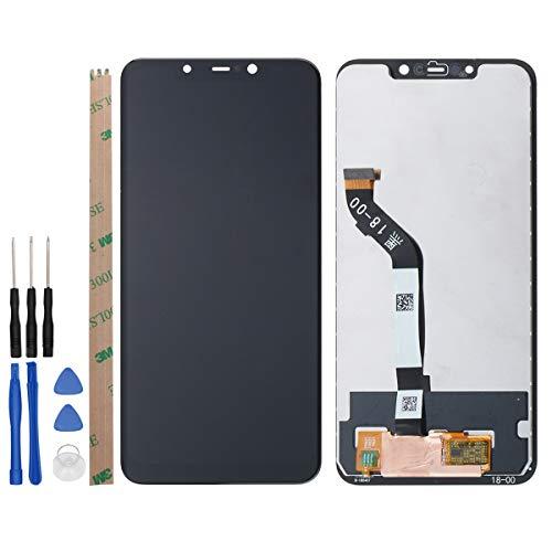 West Dragon LCD Touchscreen für Xiaomi Pocophone F1 LCD Bildschirm Ersatz Display Komplettes mit Werkzeuge für Xiaomi Pocophone F1 (Schwarz)