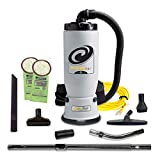 ProTeam Commercial Backpack Vacuum, AviationVac Vacuum Backpack with 1-1/4-Inch Tool Kit, 6 Quart, Corded