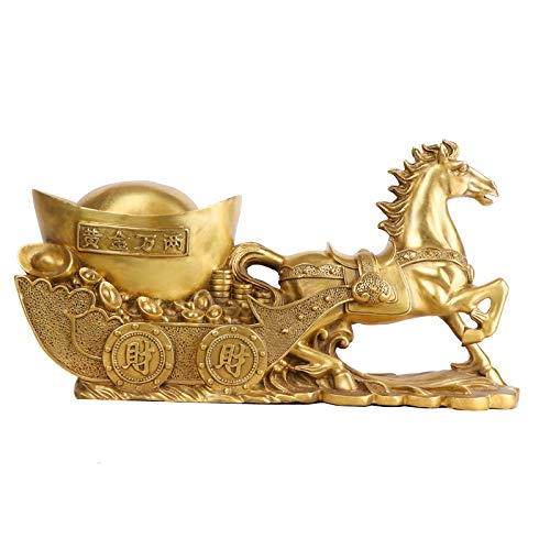 LAOJUNLU Koperen Marathon Ingot decoratie, Zodiac, paardenhuis, Housewarming decoratie Chinese traditionele ornamenten