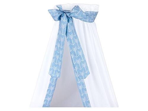 Force Kids ciel de lit flèches Blanc sur Bleu