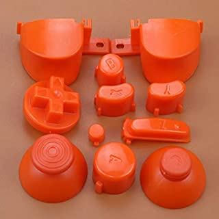 Full Sets A B X Y Z Buttons Direction Key D-pad Mod Button for Gamecube NGC Controller (Orange)
