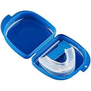 Ulable Mouth Guard Stop Teeth Grinding Anti Snoring Bruxism With Case Box Sleep Aid:Mytools