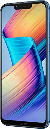 Honor Play Smartphone (16 cm (6,3 Zoll) rahmenloses FHD+ 19:9 Bildschirm, 64 GB interner Speicher & 4 GB RAM,Dual-Kamera und Dual-SIM, Android 8.1) Blau