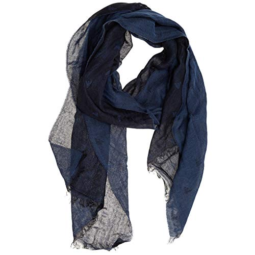 Emporio Armani - 00635 sciarpa blu 625991CC787