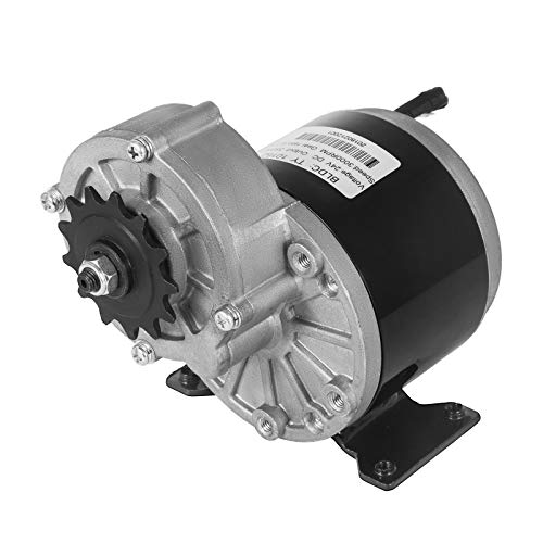 Mophorn DC Motor 24V Permanent Magnet Motor 350W Permanent Magnet Micro DC Motor Hochgeschwindigkeit niederige Lärm für mini Bike Quad und Karting