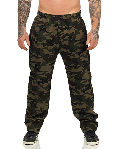 ZARMEXX Herren Relaxhose Camouflage Jogginghose Sport und Freizeithose Casualpants Fitness und Trainingshose 2XL