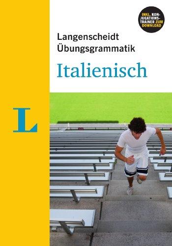 Langenscheidt Übungsgrammatik Italienisch - Buch mit PC-Software zum Download