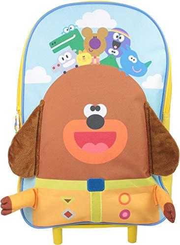 Hey Duggee Gary Wheeled Trolley Bag Luggage