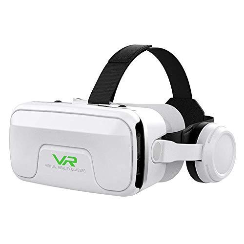 VR Brille, kompatibel mit iPhone und Android Handy 's bis 6.0 Zoll z.B. iPhone SE 6 6s 7 8 X XS, Samsung Galaxy S6 S7 S8 S9, Huawei p10 p20,LG G6, HTC, Pixel - G04EA
