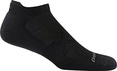 Darn Tough Vertex No Show Tab Ultralight Cool Max Sock - Men's Black Medium