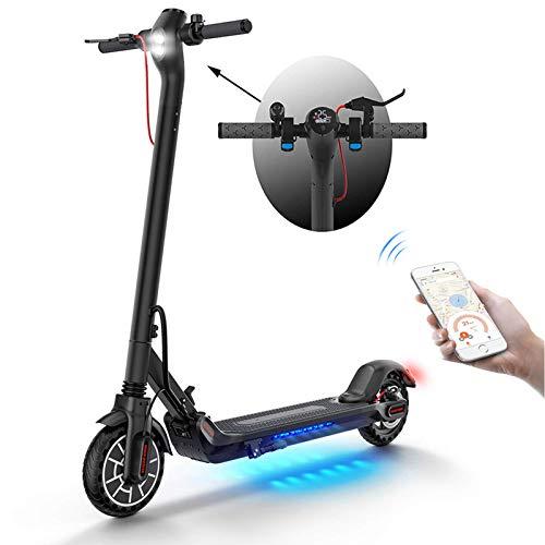 Motorino Elettrico Adulti,30Km Lungo Raggio,Velocità Massima 30km/h,350W Alta Potenza,Design Pieghevole Trasporto Facile,Kit Ultraleggero PieghevoleMotorinoElettrico per Adulti Adolescenti