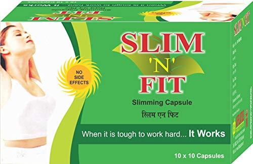 Afflatus Ayurvedic Slim Fit Weight Loss and Fat Burner || Weight Loss Supplement for Women and Men- 100 Vegetarian Capsules