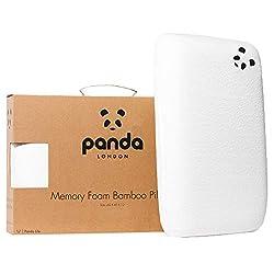 Panda bamboo memory foam pillow uk