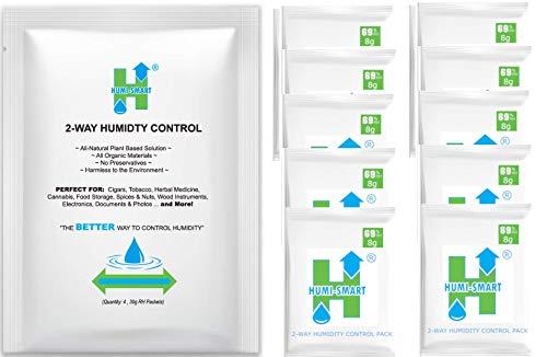 Humi-Smart 2-Way Control 69% RH 8g 10-Pack