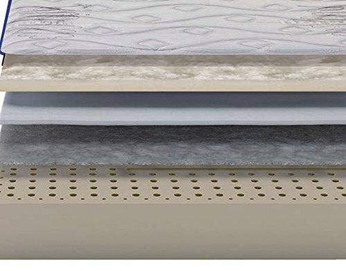 Dorwin 2454140031 - colchón de Latex enfundado Natur 135x190 cm