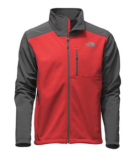 The North Face Men's Apex Bionic 2 Jacket - Cardinal Red & Asphalt Grey - XL (Past Season)