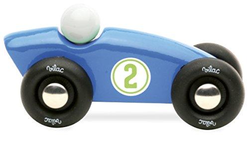 Vilac - 2280B - Jouet en Bois - Mini Compétition, Bleu