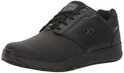 Dr. Scholl's Shoes mens Intrepid Work Shoe, Black, 12 US