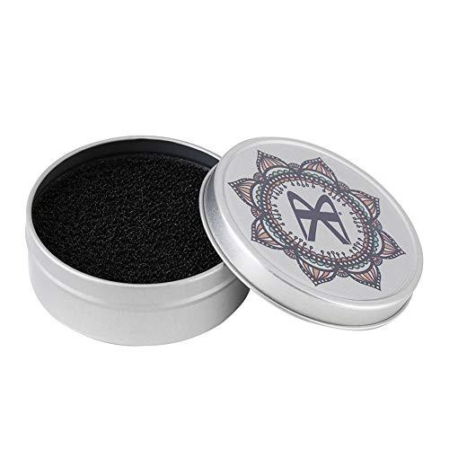 Pincel de maquillaje Herramienta de limpieza Sombra de ojos Limpiador de color Polvo Limpiador de esponjas Limpiar caja