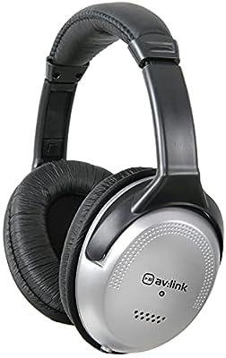 AV:Link | Full Sized Stereo Headphones with Volume Control from Avsla