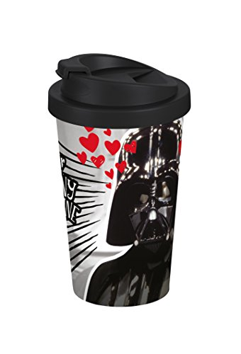 Star Wars Destiny 400ml Coffee to go Becher, Kunststoff, Bunt, 9 x 9 x 16,5 cm