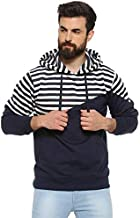 Campus Sutra Men Full Sleeve Self-Design Casual Sweatshirt
