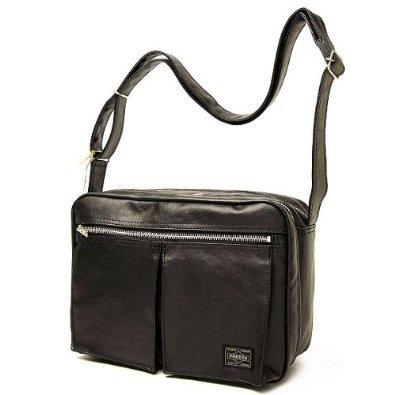 Porter Tanker / Shoulder Bag 08211 Black / Yoshida Bag